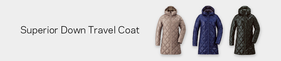 Sperior Down Travel Coat