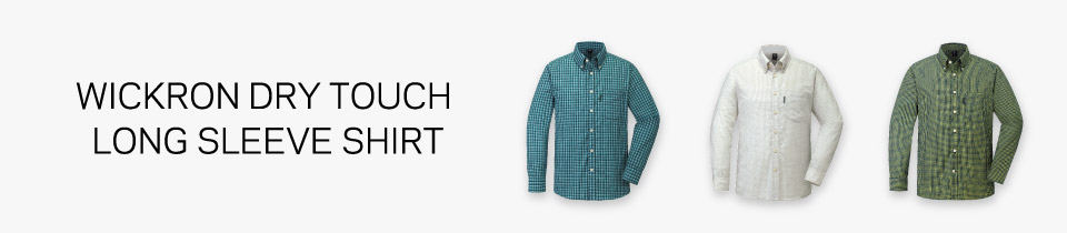 Wickron Dry Touch Long Sleeve Shirt Men's