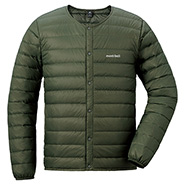 Superior Down Round Neck Jacket Men's