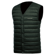 Superior Down V-Neck Vest Men's