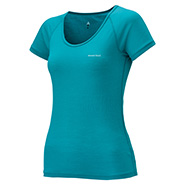 Super Merino Wool L.W. U Neck T-Shirt Women's