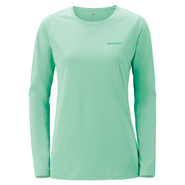 Wickron Long Sleeve Slim T One Point Logo Women's