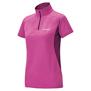 Wickron Zeo Short Sleeve Zip Shirt Women's