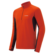 Merino Wool Plus Action Zip Neck Men's