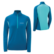 Merino Wool Plus Hybrid Zip Shirt Women's