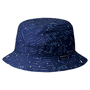 Wickron Light Print Short Brim Hat