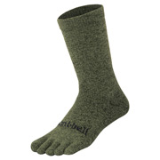 Merino Wool Travel 5 Toe Socks