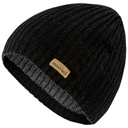 Rib Knit Watch Cap #1