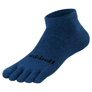 Merino Wool Travel 5 Toe Ankle Socks