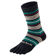 Merino Wool Trekking 5 Toe Socks Women's
