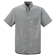Core spun Oxford Short Sleeve Button Down Shirts