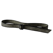 Aluminum Buckle Web Belt