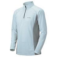 Cool Long Sleeve Zip Shirt Men's