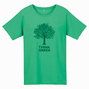 Wickron T Shirt Women's Think Green
