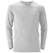 Super Merino Wool L.W. Round Neck Shirt Men's