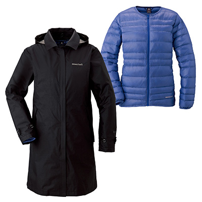 a98af67a827f 3 in 1 Travel Down Coat Women s   Montbell Euro